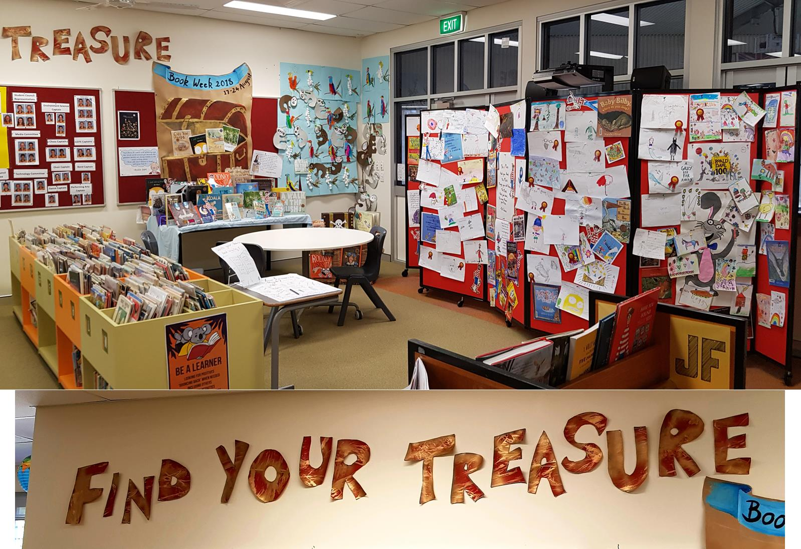 Find Your Treasure Drawing Competition
