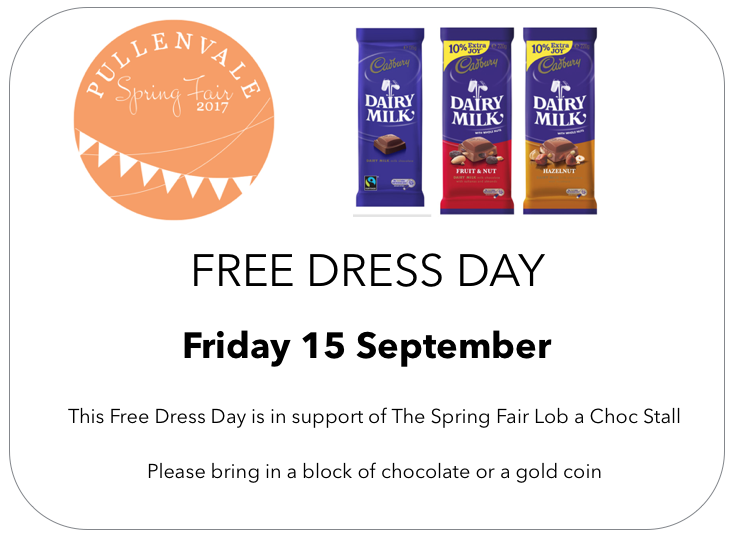 Pullenvale Spring Fair - Free Dress Day
