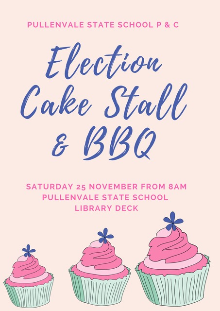 Election Day Cake Stall Donations