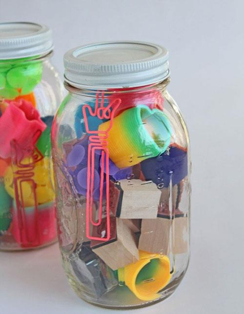Mystery Jars for Spring Fair